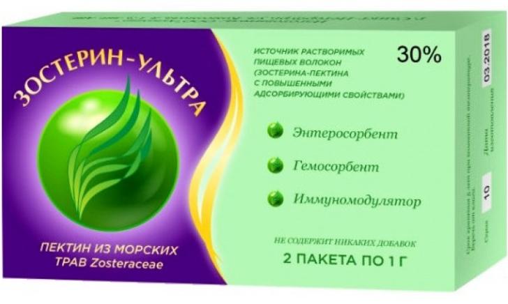Зостерин-Ультра 30% 10п