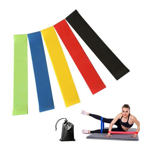 Резинки для фитнеса, набор 5 шт.