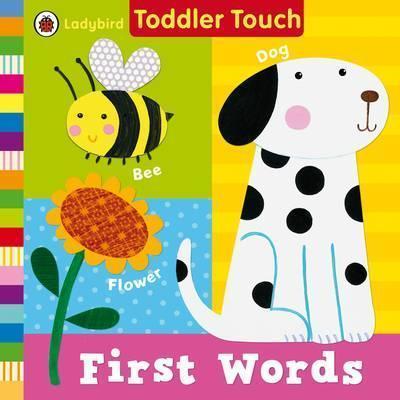 Kitab Ladybird Toddler Touch: First Words | Ladybird