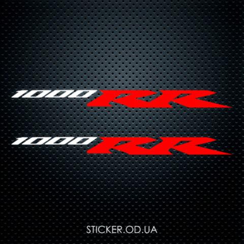 Виниловая наклейка на мотоцикл Honda CBR