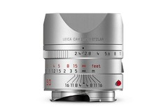 Leica Summarit-M 50mm/f2.4 silver