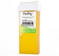 depiflax воск для депиляции кассета 110 г. Натуральный natural для всех типов кожи