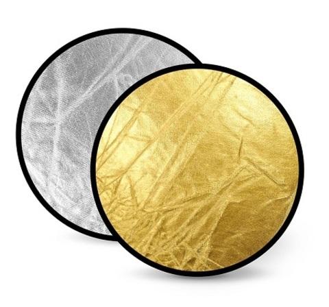 Отражатель FST RD021GS 110cm 2 в 1 золото/серебро