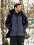 Bergans парка 7522 Aune 3in1 Jacket Dark Navy