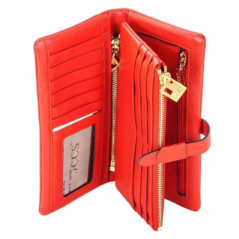 e91a2e1c9975 Купить Женский красный кошелек JCCS j-1028-2 в интернет магазине ...