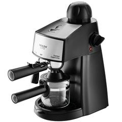 Кофеварка DELTA  LUX DL-8151К рожковая черная
