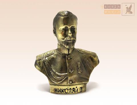 фигурка бюст Николай II