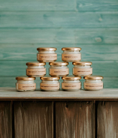 Свеча ароматическая Средиземноморский инжир, Banka home