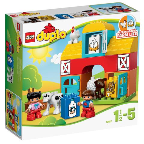LEGO Duplo: Моя первая ферма 10617 — My First Farm — Лего Дупло