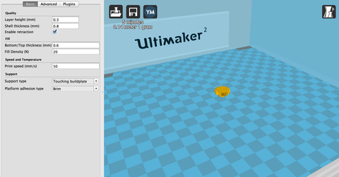3D-принтер Ultimaker 2 Go