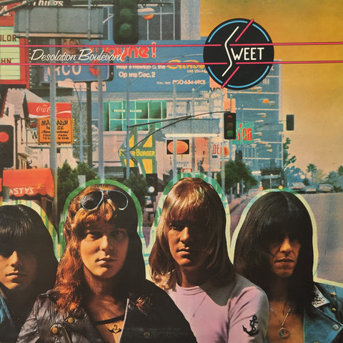 Sweet / Desolation Boulevard (LP)