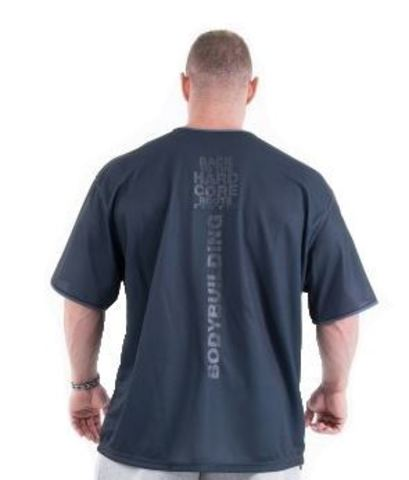 Мужская футболка Nebbia Hardcore 305 grey