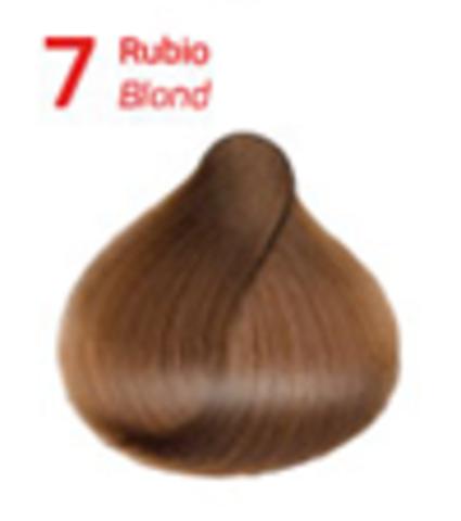 7 блондин.  Краситель для волос с эффектом лифтинга KV-1
