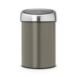 Ведро для мусора TOUCH BIN (3л), артикул 364464, производитель - Brabantia