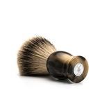 Помазок MUEHLE CLASSIC, барсучий ворс высшей категории Silvertip, смола, цвет рога, размер XL (95 K 252)