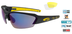 Очки Goggle Hawk Race Black-Yellow