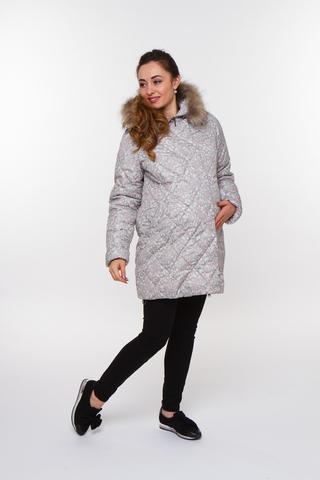 Куртка для беременных 05199 серый