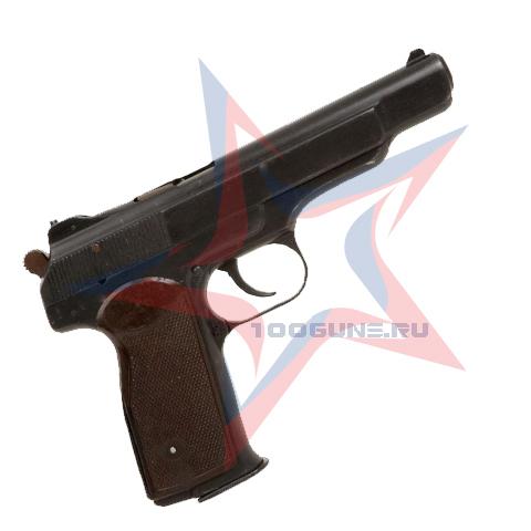 Охолощенный Пистолет Р-414 АПС (Автоматический пистолет Стечкина)