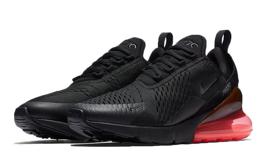 Nike Air Max 270 (Black/Hot Punch) (025)