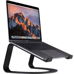 Подставка для ноутбука Twelve South Curve для MacBook, сталь, черный