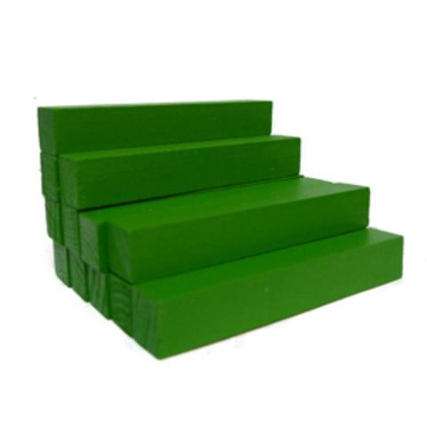 Счетные палочки 12 шт зеленые