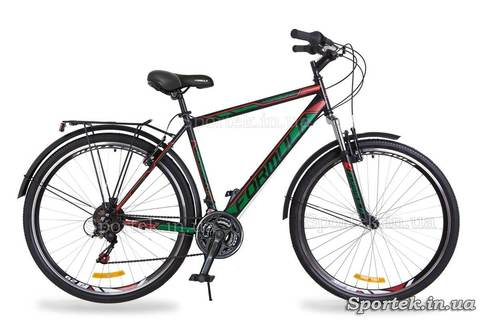 Городской мужской велосипед Формула Горизонт с 28 дюймовыми колесами