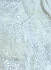 Набор на выписку из роддома зимний Красотка Lux белый