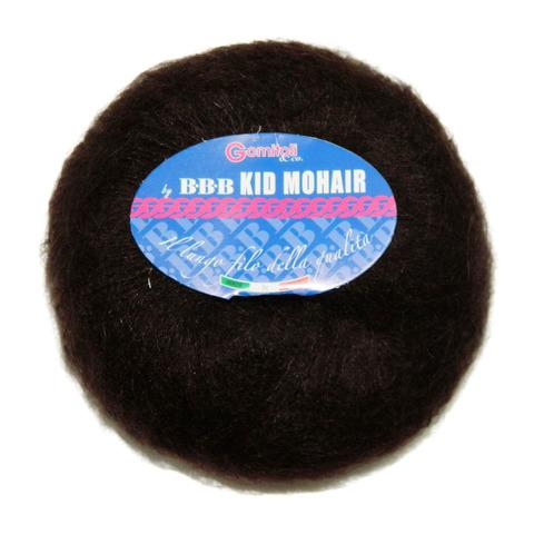 Купить Пряжа BBB Kid mohair Код цвета 0104 коричневый | Интернет-магазин пряжи «Пряха»