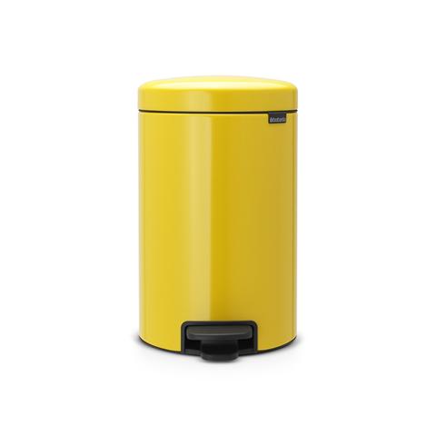 Мусорный бак newicon (12 л), Желтая маргаритка, арт. 113567 - фото 1