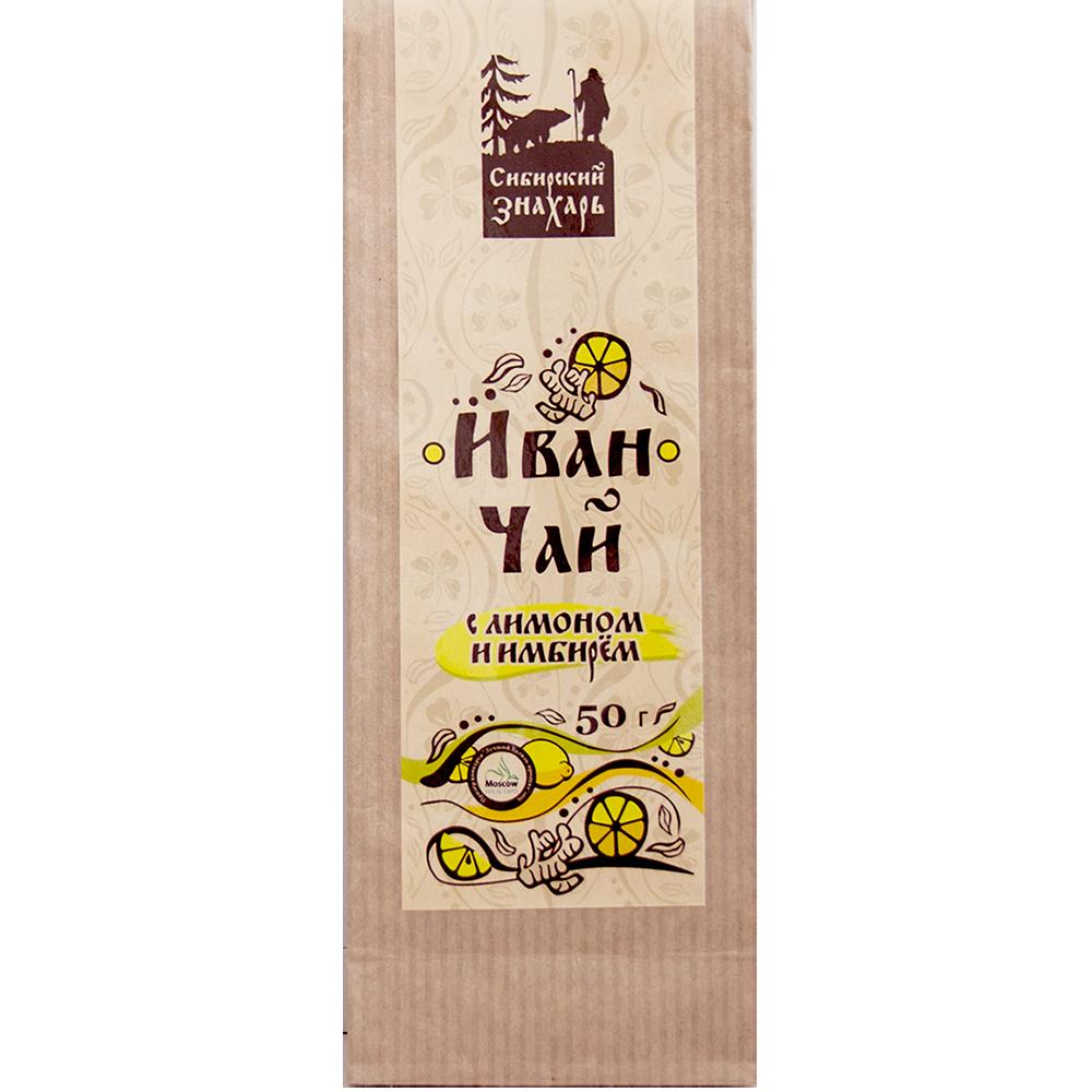 Иван чай с лимоном и имбирём 50 г