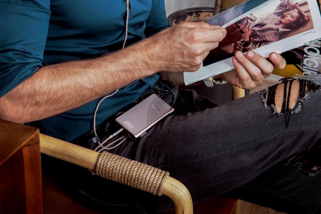 Shanling M5s titanium, портативный аудиоплеер