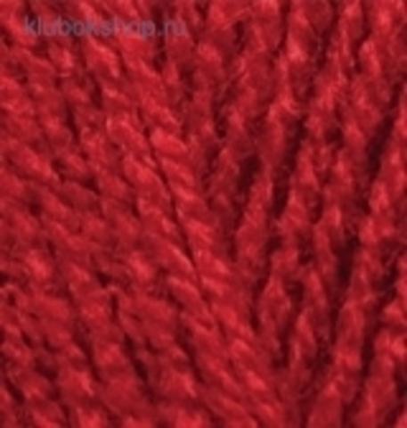 Пряжа Burkum Alize 106 красный - фото