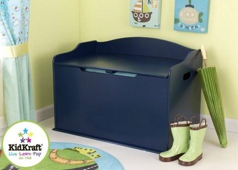 Ящик для хранения KidKraft Austin Toy Box Синий 14959_KE