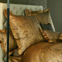 Постельное белье 2 спальное евро макси Curt Bauer Katharina янтарное