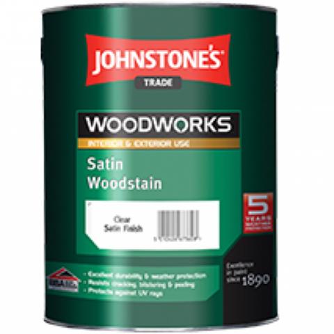 JOHNSTONE'S SATIN WOODSTAIN/ДЖОНСТОУНС Защитный состав для древесины