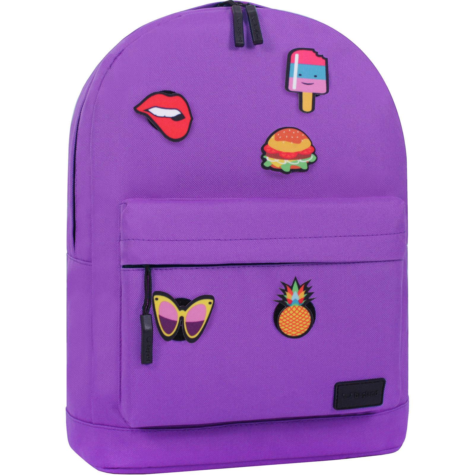 Городские рюкзаки Рюкзак Bagland Молодежный W/R 17 л. 170 Фиолетовый (00533662 Ш) IMG_2901.JPG