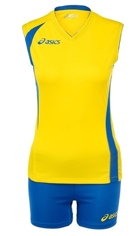 Asics Set Fly Lady форма волейбольная yellow