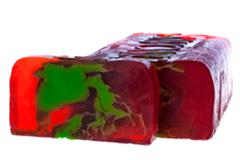 Натуральное мыло Клюквенный морс (клюква), 100g ТМ Savonry