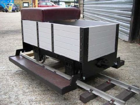 Garden Rail 4-колёсный угольный вагон,  корпус из ламината на колею 12,7 см