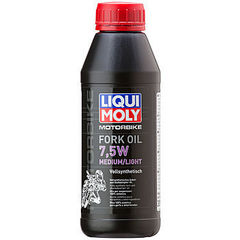 3099 LiquiMoly Синт.масло д/вилок и амортиз. Motorbike Fork Oil Medium/Light 7,5W(0,5л)