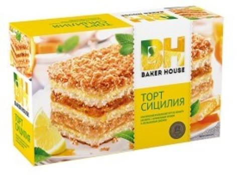 "Бисквитный торт ""Baker House"" Сицилия 350г"