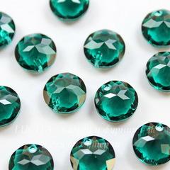 6430 Подвеска Сваровски Classic Cut Emerald (10 мм)