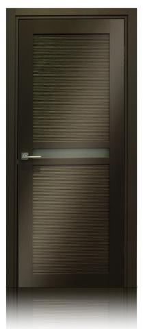 Дверь Венеция 04 (венге, остекленная экошпон), фабрика Casa Porte
