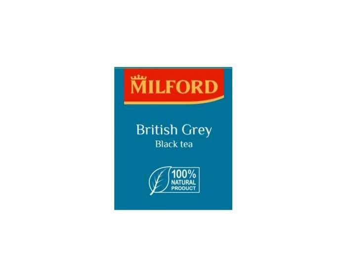 Чай черный в пакетиках Milford Эрл Грей, 200 пак/уп
