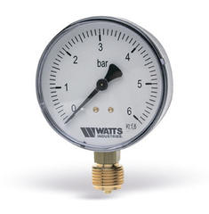 Манометр радиальный Watts F+R200 (1/2