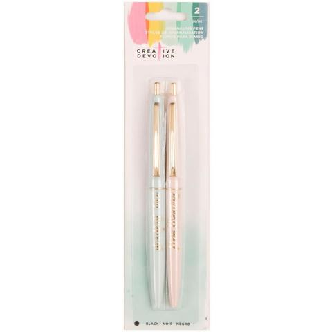 Набор ручек Creative Devotion Ball Point Journaling Pens -2шт