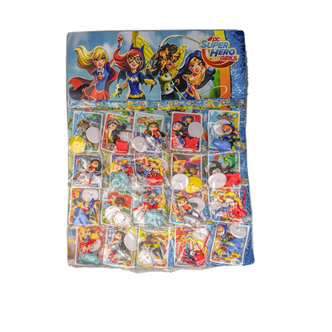 Коллекция игрушек на блистере Super Hero Gerls  1кор*1бл*20шт
