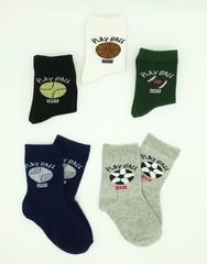 Носки для мальчиков ( 10 пар) арт G16( р 19-22)