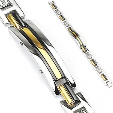 Мужской браслет из стали SPIKES SSBH-0810