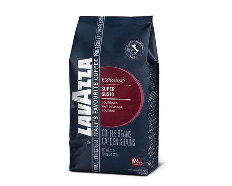 Кофе в зернах LavAzza Super Gusto UTZ, 1 кг (Лавацца)